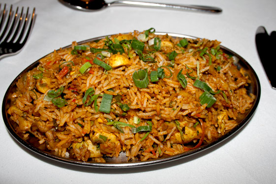 recipe for pilau rice with chicken
